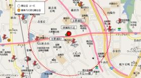 商圏図マップ 地点